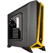 Corsair Carbide Series SPEC-ALPHA Mid-Tower Gaming Case Black & yellow