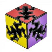 6cm Gear Magic Cube - Black + Blue (Skill Level 2)