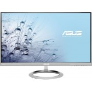 "Monitor IPS LED ASUS 25"" MX259H, Full HD, 5 ms GTG, VGA, HDMI, Boxe B&O ICEpower, Flicker free, Low Blue Light, TUV certified (Argintiu) + Bitdefender Antivirus Plus 2017, 1 PC, 1 an, Licenta noua, Scratch Card"