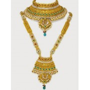 Polki Bridal Necklace Sets - 70246 (SD-12)