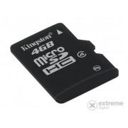 Card memorie Kingston microSDHC 4GB Class4