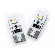LED POZITIE W5W T10 CAN-BUS CU 2 LED-URI SMD 2 buc.