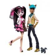 Monster High - Draculaura y Clawd Wolf (Mattel V7961 )