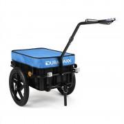 Duramaxx Big Blue Mike - Remolque para bicicletas 70 L azul