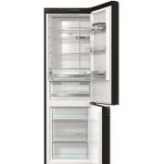 Хладилник с фризер Gorenje, NRK612ORAB, Обем 307 л, Клас А++, Черен