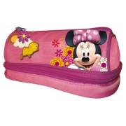 Minnie Mouse UVA Fragola Trousse 2 Zip avec Papeterie