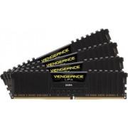 Memorie Corsair Vengeance LPX 16GB Kit 4x4GB DDR4 2400MHz CL14 Black