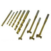 Set Spirale si Freze Metal combinate, 10 piese - MANNESMANN - M54310