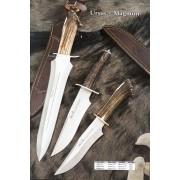 Cuchillo Ursus-Magnum puño asta de ciervo