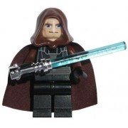 LEGO Anakin Skywalker in Jedi Robes with CHROME Lightsaber (Loose) Star Wars Mini Figure