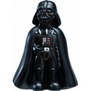 """Joy Toy Darth Vader Figura conTtesto """"The force is strong with this one!"""", Argilla, Multicolore, 6x6x9 cm"""