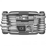 Crank Brothers Multi-19, Attrezzi per manutenzione, Grigio, ciascuno