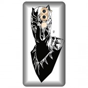 Wizzart Huawei Honor 6X Back Cover Case In Print Designer Cases And Covers black panther Print Design