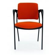 Cadeiras de Escritório Visitante 4 Pés Com Braços SENEGAL