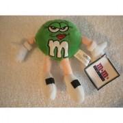 M&m's World Las Vegas Green Bean Bag Plush