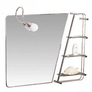 Oglinda baie cu iluminare Sanotechnik 90 x 75 | YHB705