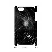 iPhone 5 en 5S Case gebroken glas