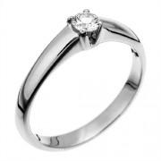 Orphelia RI-022604/25-58 - Anillo de mujer de oro blanco (18k) con 1 diamante (talla: 18)