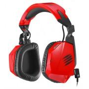 Mad Catz F.R.E.Q. 3-RED :: Геймърски стерео слушалки за PC, Mac и Smart у-ва