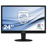 "Philips 241S4LCB S-Line Monitor 24"", Nero"