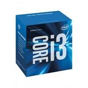 Intel Box Core i3 Processore i3-6300, Argento