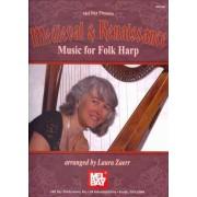 Medieval and Renaissance Music for Folk Harp by Laura Zaerr