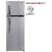 LG 360 L GL-T402HPZM Frost Free Double Door 4 Star Refrigerator -Shiny Steel