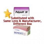 Polysoft 38 Pearle Vision Contact Lenses (6 lenses/box - 1 box)