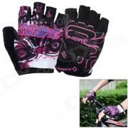 INBIKE Ciclismo respirables Guantes medio dedo - Multi-Color (XL)