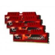 G.Skill RipJaws X Series 16 Go (4 x 4 Go) DDR3 2133 MHz CL9, Kit Quad Channel DDR3 PC3-17066 F3-2133C9Q-16GXL
