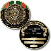Coast Guard Achievement Medal Coin Engravable Challenge Coin