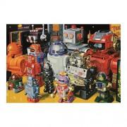 Educa Robotok puzzle, 1000 darabos