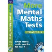 More Mental Maths Tests for Ages 8-9 by Andrew Brodie