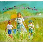I Love You the Purplest by Barbara M. Joose