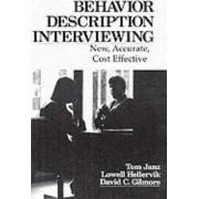 Behavior and Descriptive Interviewing by Tom Janz