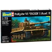 Revell 03116 - PzKpfw VI Tiger I Ausf.E Kit di Modello in Plastica, Scala 1:72