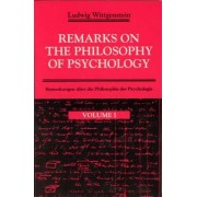 Remarks on the Philosophy of Psychology: v. 1 by Ludwig Wittgenstein