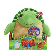 Pop Out Pets Ocean, Reversible Plush Toy, Get 3 Stuffed Animals in One - Turtle, Dolphin & Walrus, 8 in. by Jay at Play