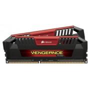 Corsair CMY16GX3M2A2400C11R Vengeance Pro Series Memoria per Desktop a Elevate Prestazioni da 16 GB (2x8 GB), DDR3, 2400 MHz, CL11, con Supporto XMP, Rosso
