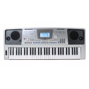 Funkey 61 Xl Synthétiseur Avec Bloc D'alimentation Et Appui Pour Les Notes