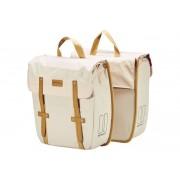 Basil Portland Doppeltasche slimfit creme Gepäckträgertaschen