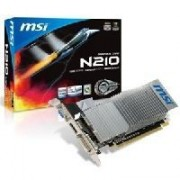 MSI N210-MD1GD3H/LP - Carte graphique - GF 210 - 1 Go DDR3 - PCIe 2.0 x16 faible encombrement - DVI, D-Sub, HDMI