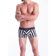 Mundo Unico Tango Short Boxer Brief Underwear Black/White 15100822-52