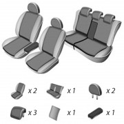 Set huse scaun Volkswagen Golf Plus 2004 - 2009