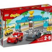 Конструктор ЛЕГО ДУПЛО - Състезание за купата, LEGO DUPLO Cars, 10857