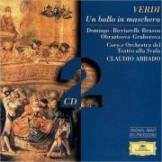 Claudio Abbado, Coro e Orchestra del Teatro alla Scala - Verdi: Un Ballo in Maschera (0028945314822) (2 CD)