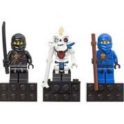 LEGO Ninjago Magnet 3Pack #853102 Cole Nuckal Jay