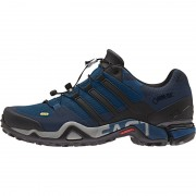 adidas Terrex Fast R GTX Shoes Men techsteelf16/coreblack/collegiatenavy 45 1/3 Trekkingschuhe