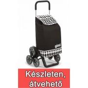 Gimi Tris lépcsőjáró bevásárlókocsi Optical fekete - 145092