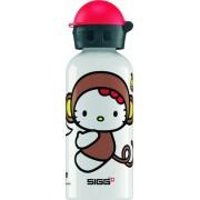 Sigg drinkbeker hello kitty aap wit (0,4l)